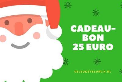Kerst Cadeaubon 25 euro