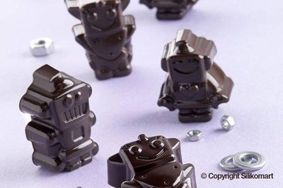 Siliconen vorm robots | Silikomart