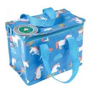 Lunchbag / koeltas Eenhoorn - blauw