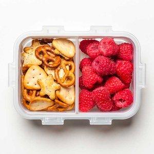 Snackbox met vakjes 460 ml. | Lock&Lock