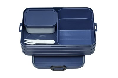 Bento lunchbox large - Nordic Denim
