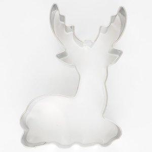 Hert (zittend) bento uitsteker - 7 cm.