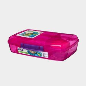 Trends bento lunchbox met boterhamlade - roze | Sistema