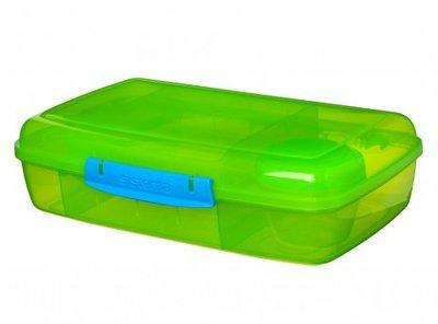 Trends bento lunchbox met boterhamlade - groen | Sistema