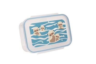 Sugarbooger lunchtrommel met baby otters