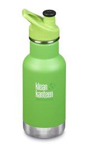 Insulated Klean Kid Kanteen draaidop RVS 355 ml. - Lizard groen