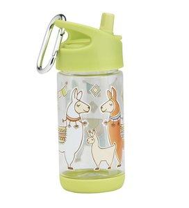 Drinkfles met schattige lama's  - Sugarbooger