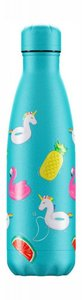 Chilly's bottle - Pool party unicorns (500 ml.)