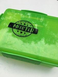 Cadeau juf & meester lunchbox snack attack   Sistema