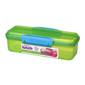 Snack en dipbox groen | Sistema