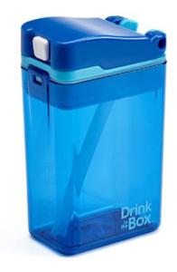 Drink the box - blauw | Vernieuwd design!