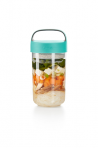 Food jar to go 600 ml. - blauwgroen| Lekue