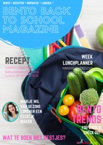 Bento back to school magazine - digitaal