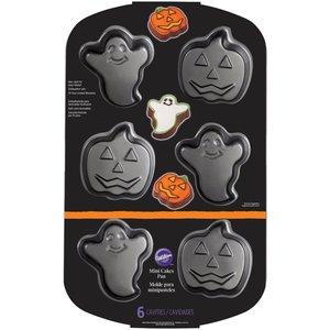 Halloween bakvorm RVS - spook, pompoen