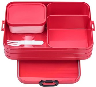 Bento lunchbox large - Nordic Red