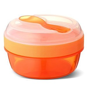 N'ice cup - snack to go met koelelement oranje