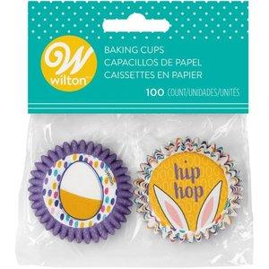 Mini Pasen cupcake bakvormpjes | 100 stuks