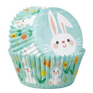 Pasen mint cupcake bakvormpjes | 100 stuks