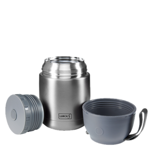 Thermos voedselcontainer grijs 450 ml. | Lurch