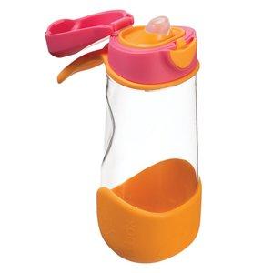 b.b.ox drinkfles sporttuit aardbei oranje