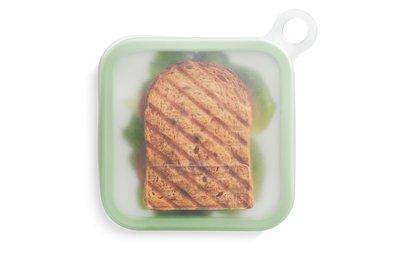 transparant herbruikbaar boterhamzakje