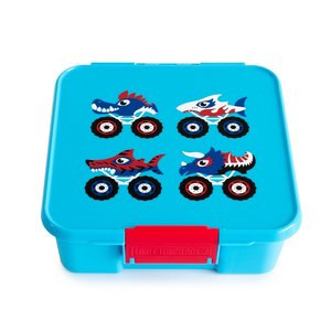 Monster trucks - Little lunchbox 3 vakken