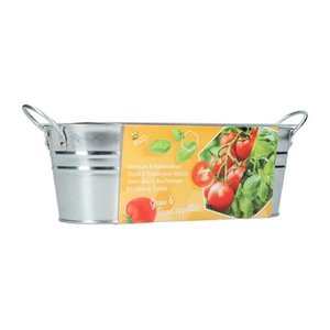 mini moestuintje italiaanse caprese salade