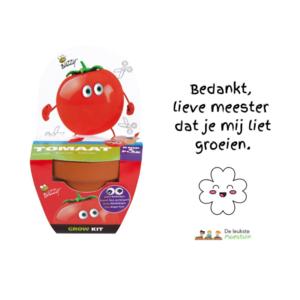 Meestercadeau   Buzzy kids grow set tomaat